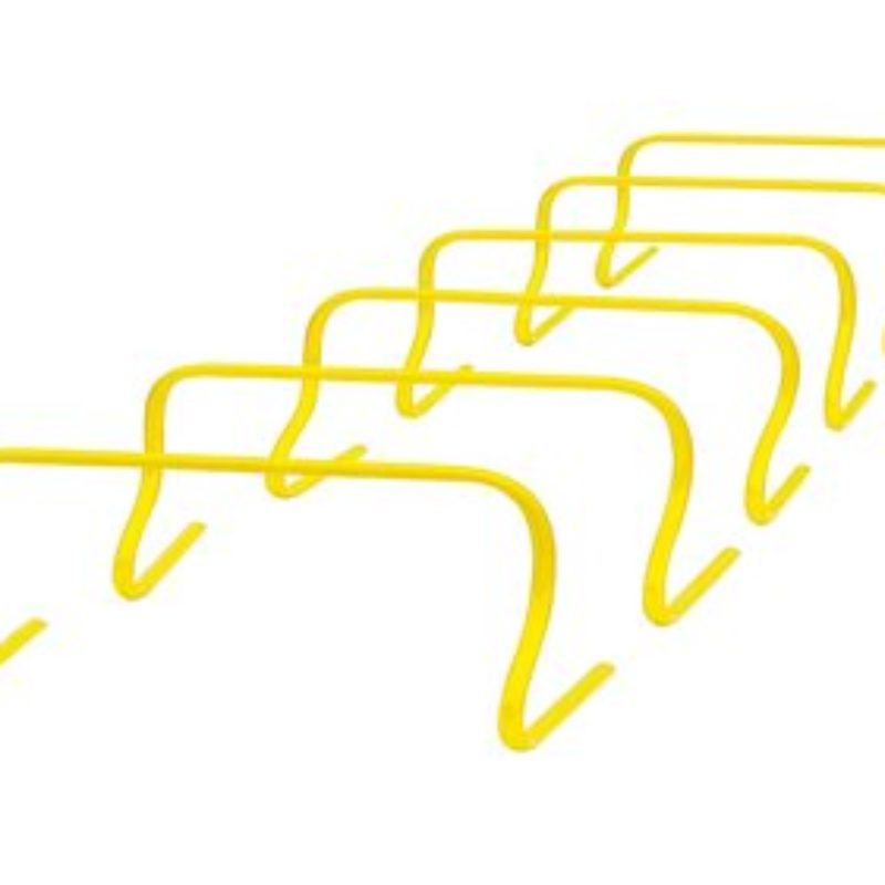 Träningshäckar låga 6-p