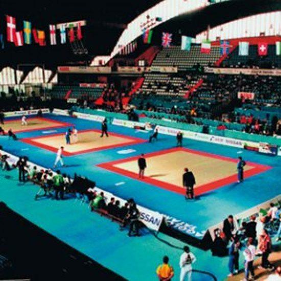 Judomatta 100x100x4 Cm
