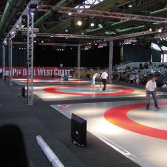 Fristilsmatta MMA 8x8 m