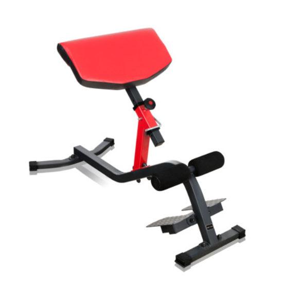 Bänk för ryggträning
