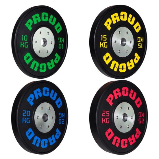 COMPETITION BUMPER PLATE BLACK