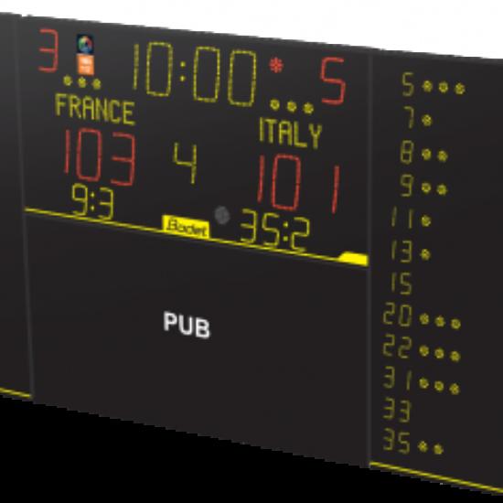 8T125 Alpha - F10 - Pub - Multisport Scoreboard